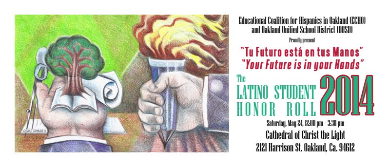 2014 Latino Student Honor Roll banner